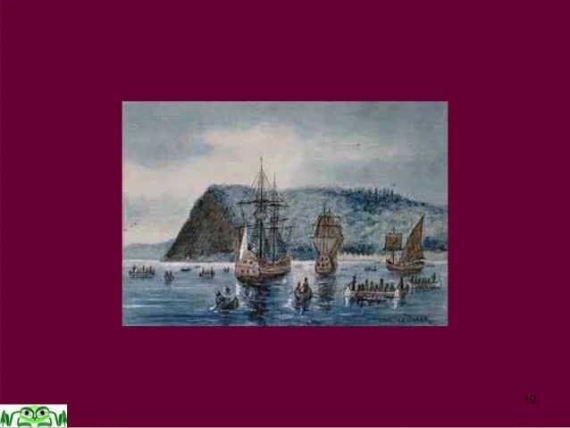 Jacques Cartier S 2nd Voyage Of Discovery 1535 1536