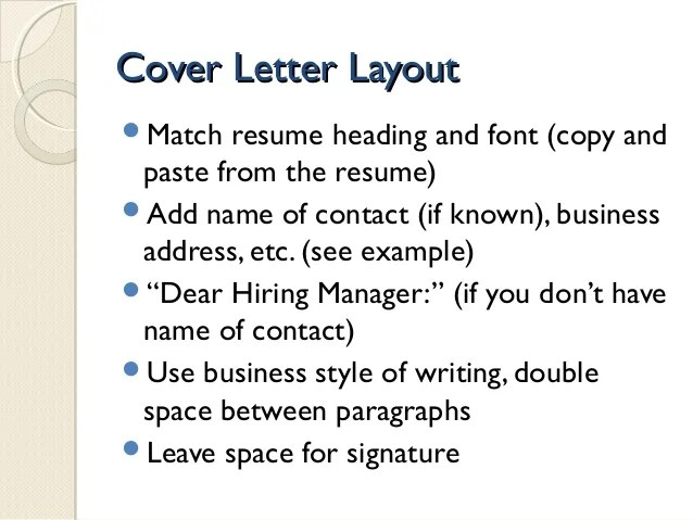 Resume view