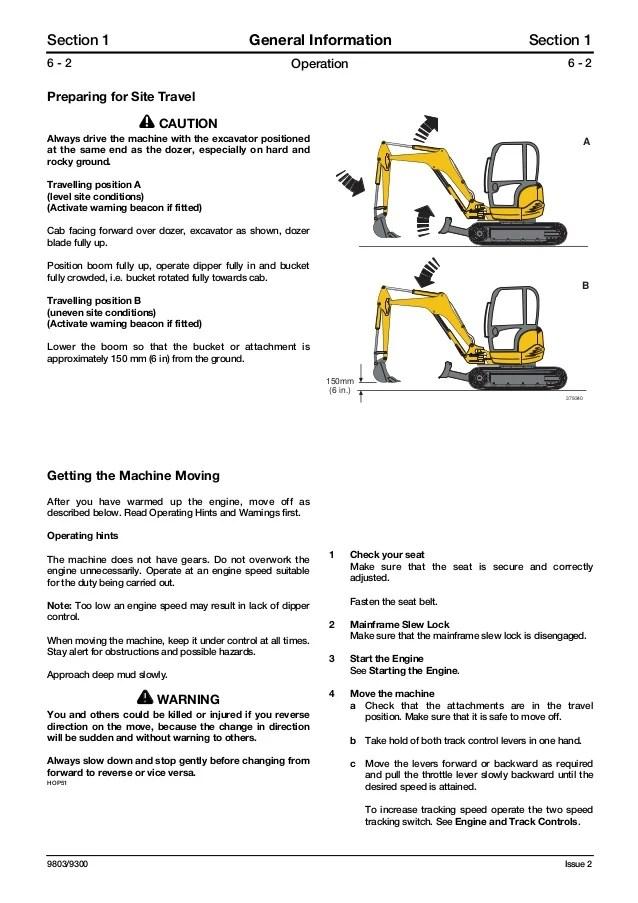 jcb excavator service manual ebook