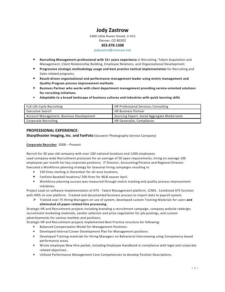 Recruiter Resumes. Recruiter Resume Corporate Recruiter Resume