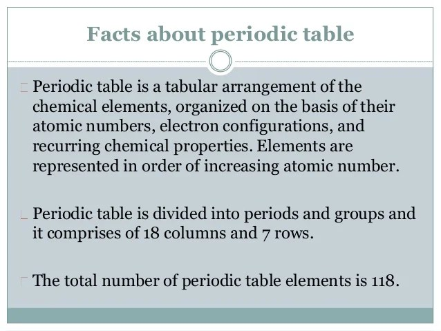 Interesting facts about periodic table elements periodic john alexander reina newlands discoverer of periodic table periodic table of elements trivia and interesting facts urtaz Gallery