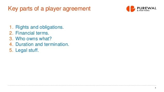 Esports Player Agreement What Works And What Doesn T