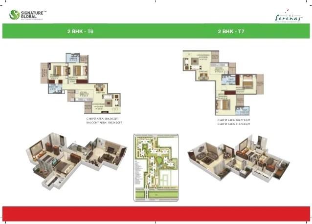 THE SERENAS Brochure floor plan price list locationmap call whatsapp 8010730143