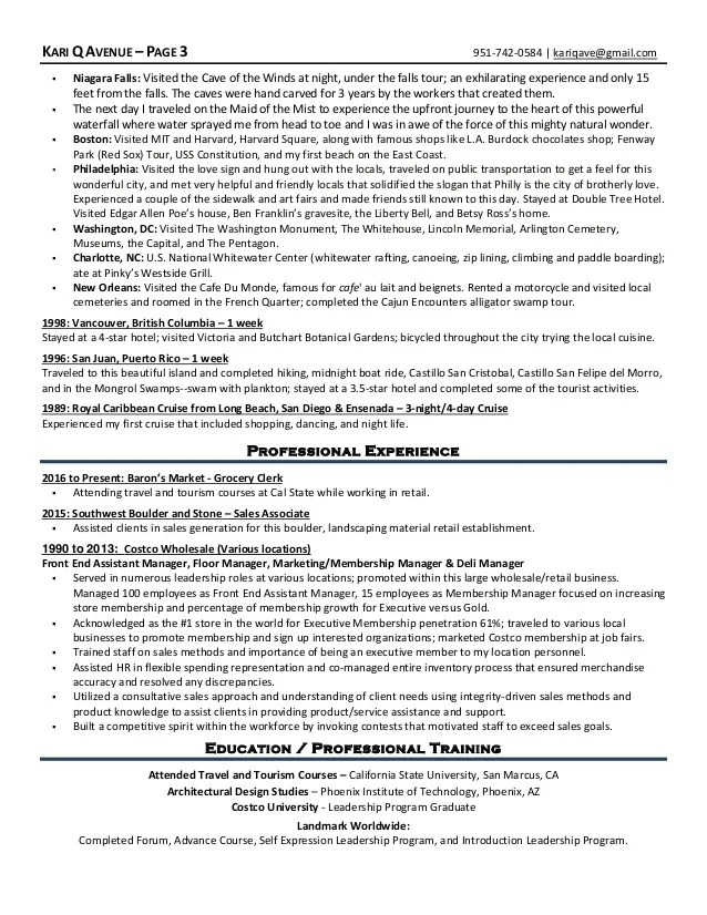 tour guide resume technical cv writing service brefash diamond - Tour Guide Resume