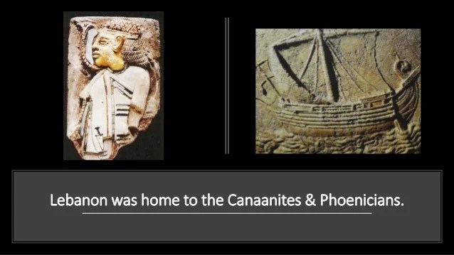Image result for the lebanese are the canaanites