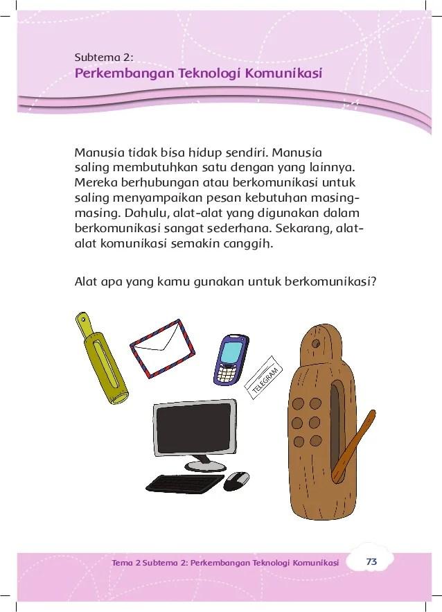 Contoh Gambar Mewarnai Gambar Alat Komunikasi Untuk Anak Sd Kataucap