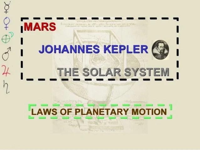 Laws Planetary Motion