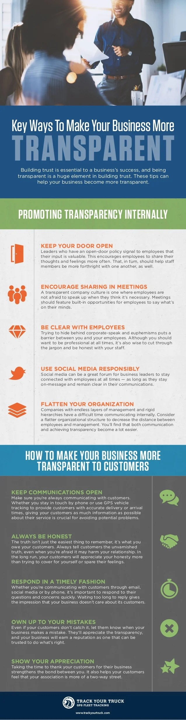 Key Ways to Make Your Business More Transparent