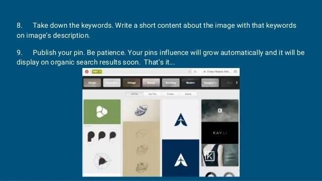 Keyword Pinterest 2021