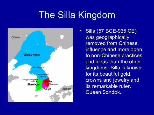 Silla Dynasty And Japan