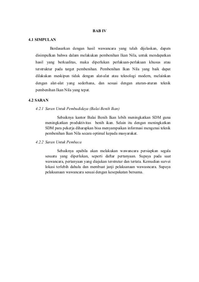 Contoh Surat Permohonan Permintaan Bibit Ikan Contoh Seputar Surat