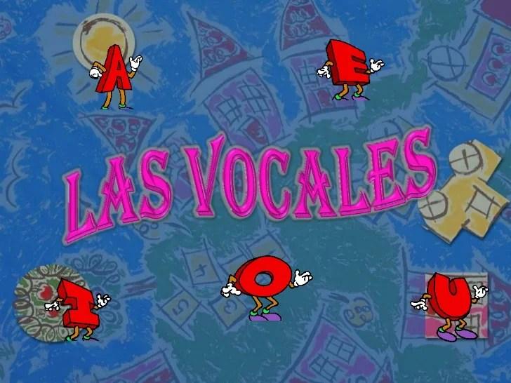 Actividades Para Aprender Las Vocales