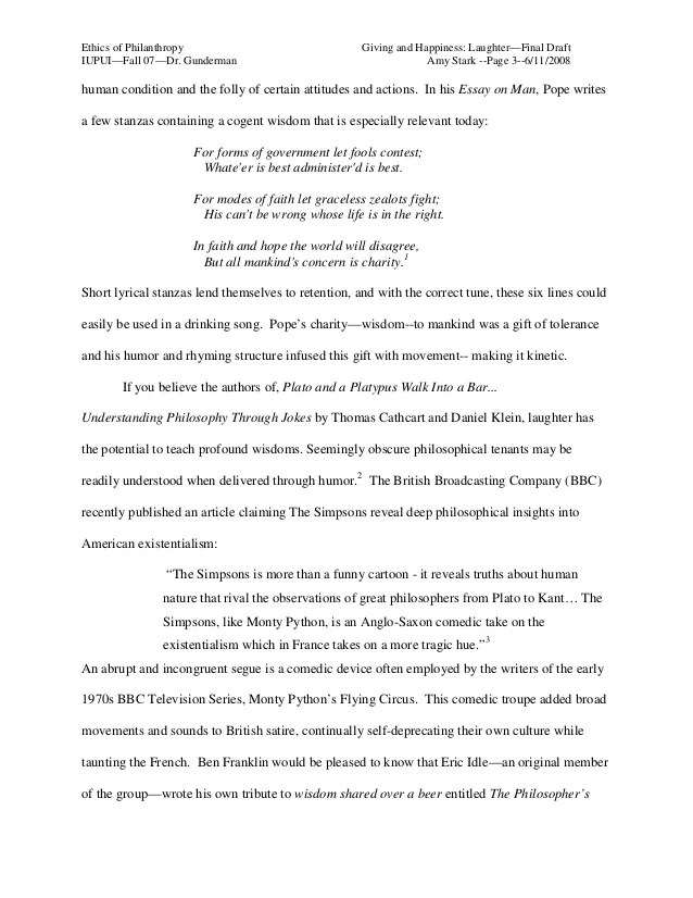 Laughter Best Medicine Essay