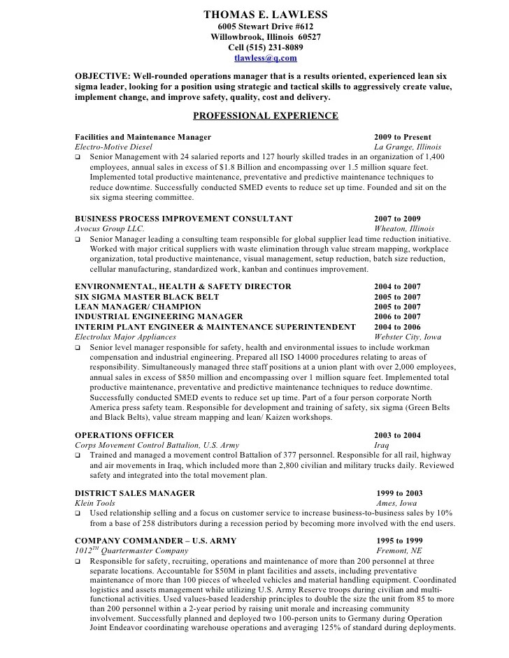 army infantry resume examples