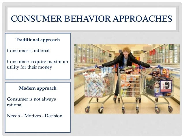 rational consumer The rational consumer one of the key assumptions underlying economics is the concept of the rational consumer ie, that individuals know what they want and.