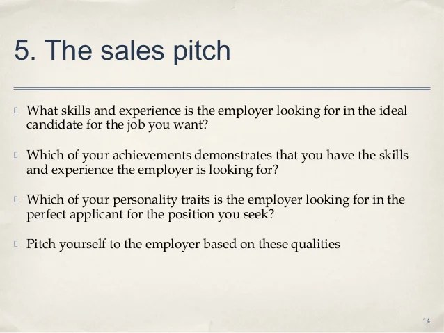 sales pitch cover letter sales pitch