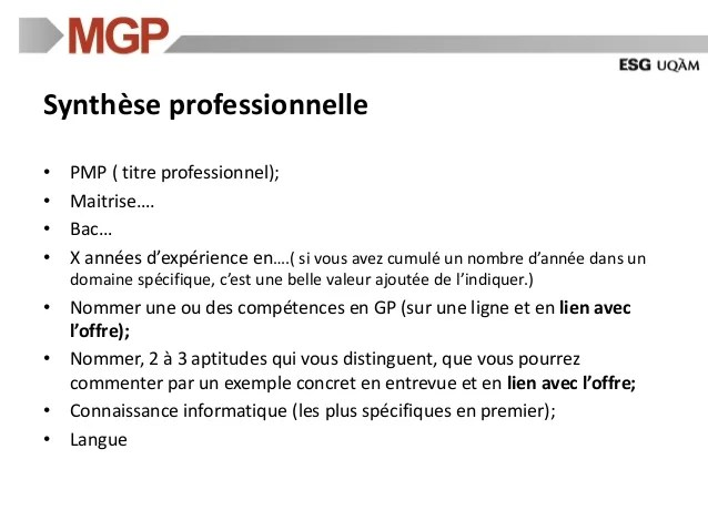 Atelier Sur La Redaction Du Cv Pour Les Jeunes Professionnels