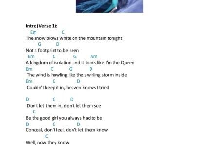 Let It Go Demi Lovato E Chords - NYC
