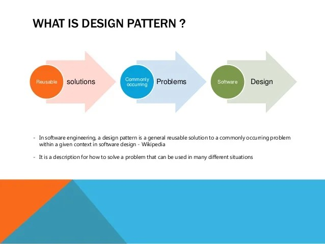 Resultado de imagen para software design patterns