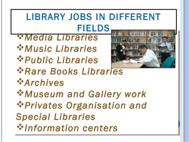 LIBRARY JOBS IN DIFFERENT FIELDS In R&D Centre like ICAR, CSIR, DRDO, ICSSR, ICHR, ICMR, ICFRE, etc In International Cen...