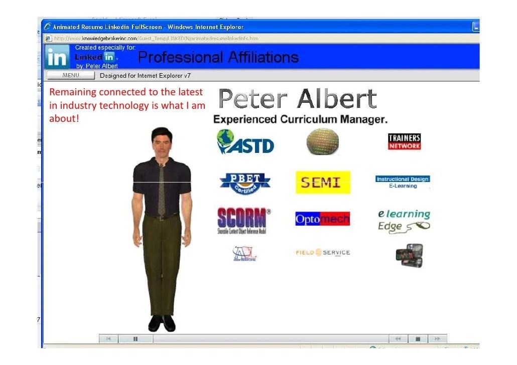 technical trainer instructional designer resume