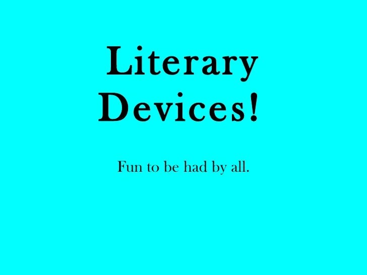 Literary Term Parallelism