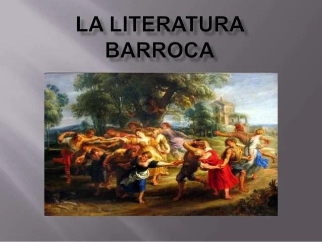 Resultado de imagen para LA LITERATURA DEL BARROCO