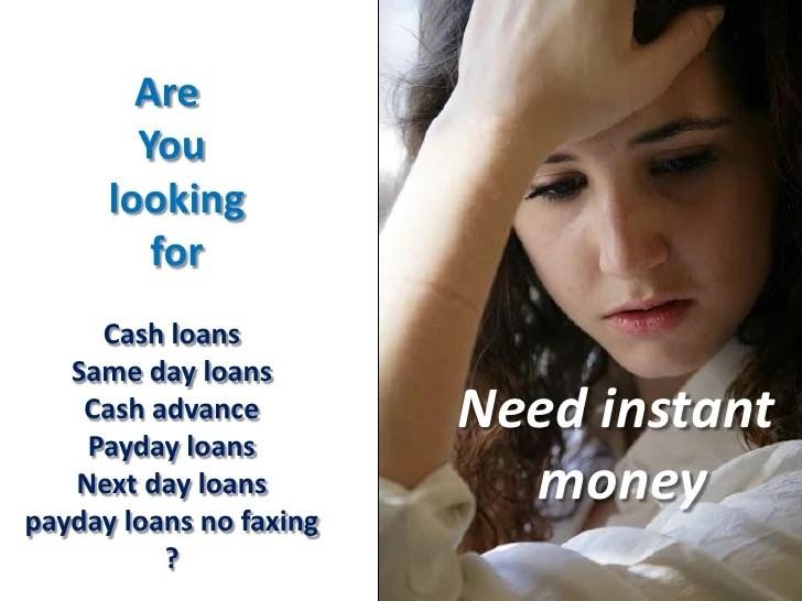 online cash advance loans no faxing- no credit check ...