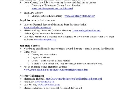 Download Free Template » hennepin county minnesota court forms ...