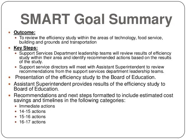Student Goals Template. Photo Sample Financial Analysis Report