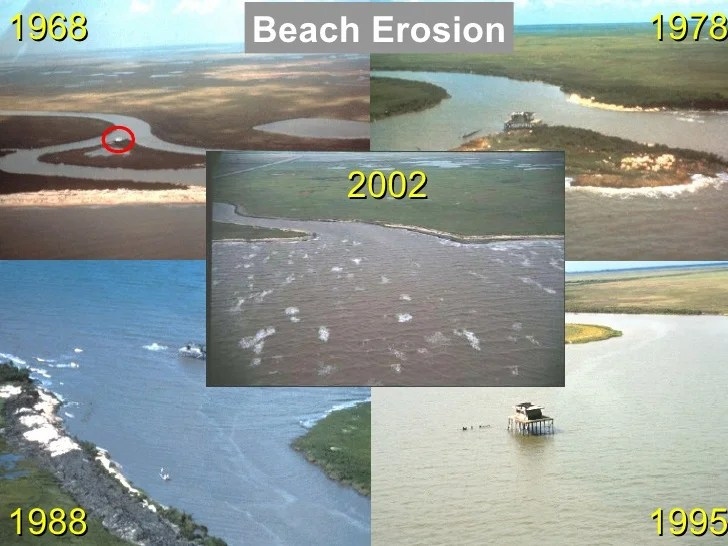 Louisiana Coastal Erosion Causes