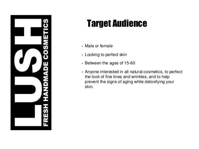 Fresh Handmade Cosmetics Marketing Plan