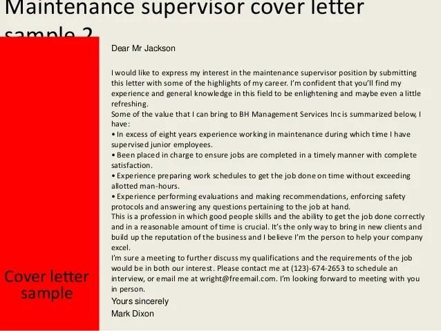 sample cover letter for warehouse manger position