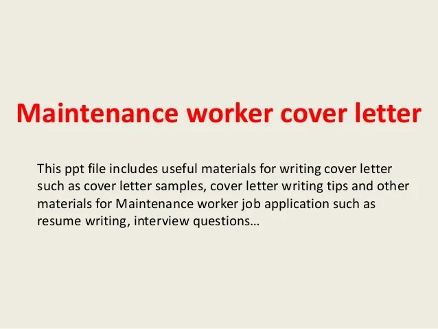 worker cover letterthis ppt file includes useful materials