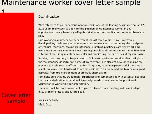 maintenance worker duties resume maintenance worker resumes