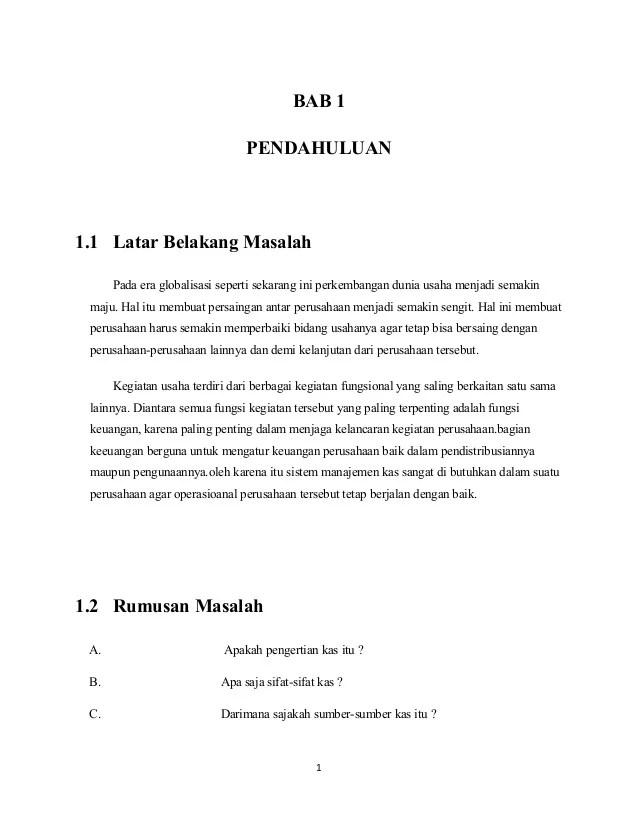 Contoh Makalah Manajemen Sarjanaku Lalod