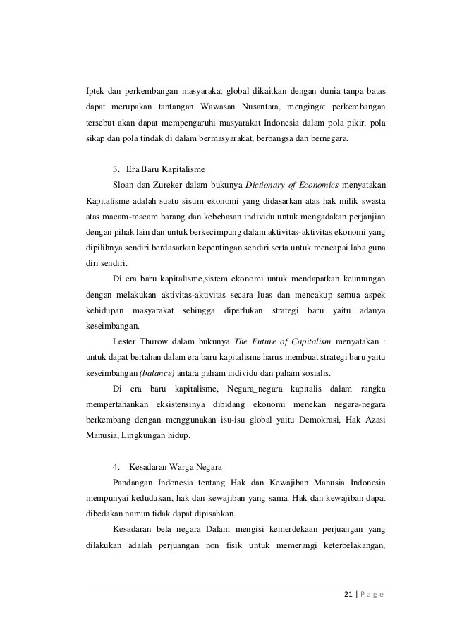 Makalah Wawasan Nusantara Dalam Konteks Nkri Kami