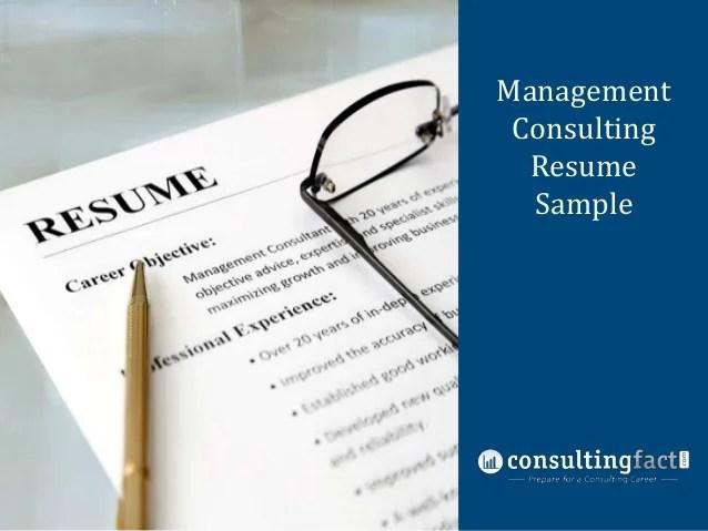 managementmanagementconsultingconsultingresumeresume samplesample