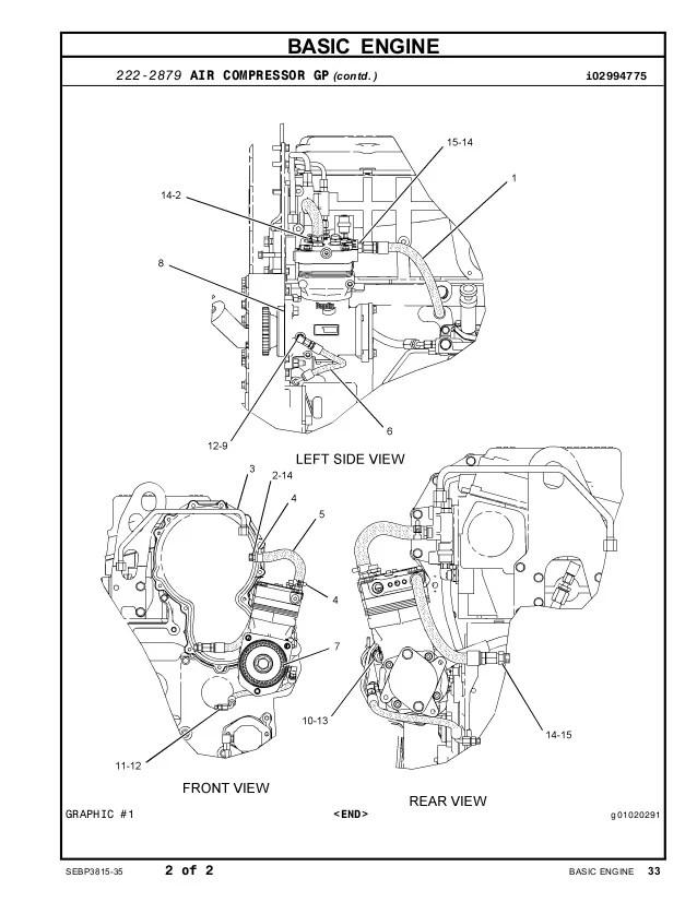 Engine Cat C15 Diagram Air Compressor