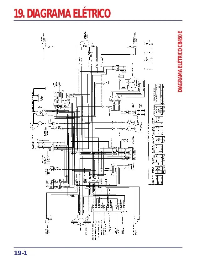 Manual de serviço cb450 diagrama