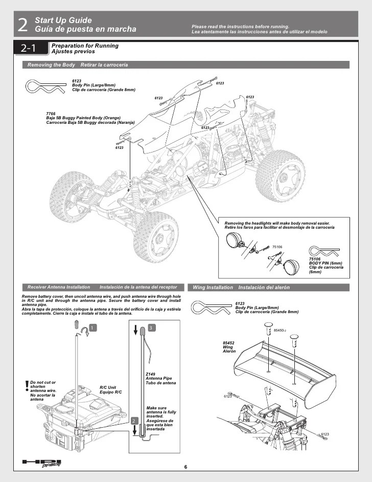 Hpi Baja 5b Parts Diagram