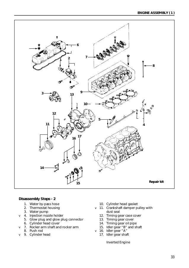 Isuzu 4jb1 workshop manual