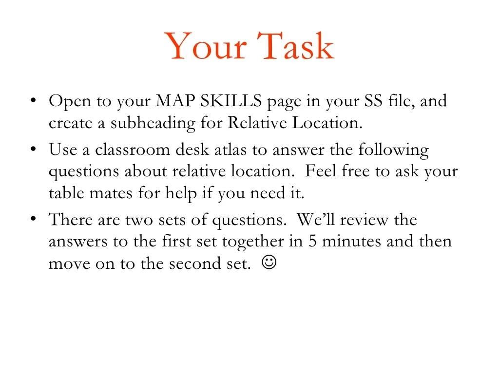 Map Skills 4
