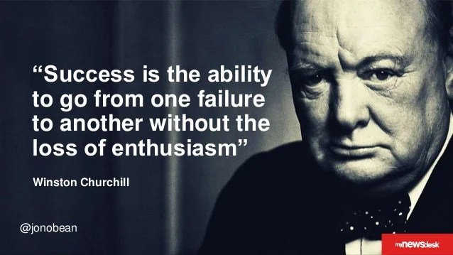 famous success and failure quote