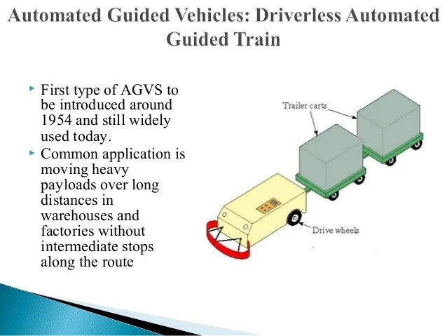 Automated Guided Vehicle Route