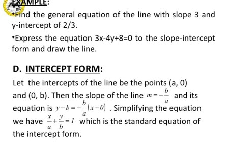 Free Forms 2018 Converting Standard Form To Slope Intercept Form