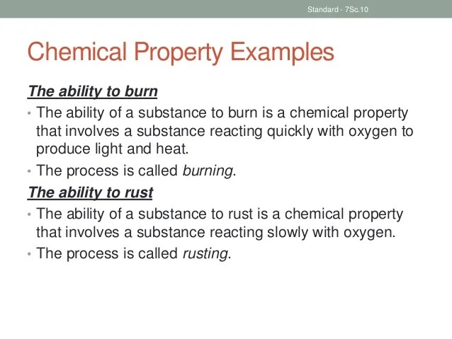 Used Are And Physical Changes They How And What Are Chemical Substance