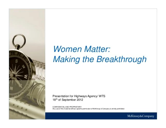 McKinsey Presentation