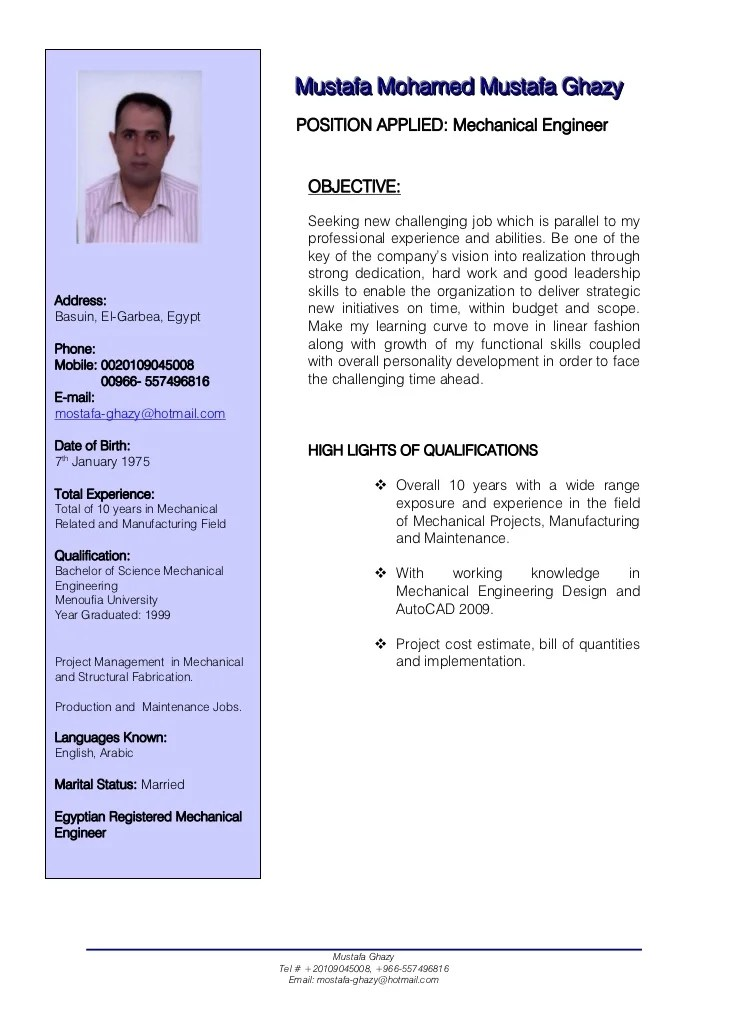 S&le Resume Senior Mechanical Engineer Resume Exles Near Perfect Resume Ex&le Resume And Cover Letter