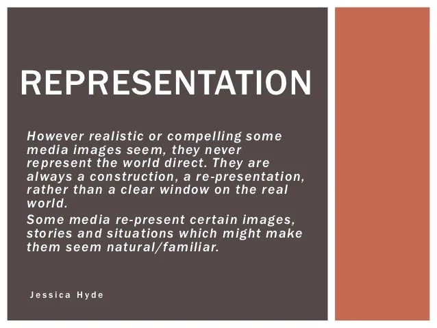 Image result for representation in the media